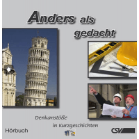 ANDERS ALS GEDACHT, HÖRBUCH