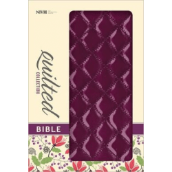 NIV THINLINE PLUM QUILTED DUO TONE