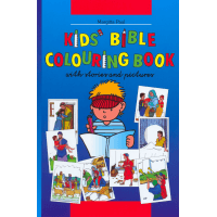 Kinder-Mal-Bibel Englisch - Kids' bible coloring book with stories and pictures